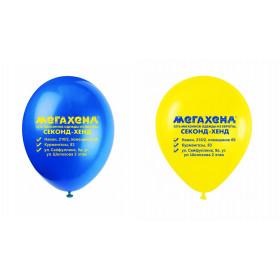 Тираж 3000 шт - Печать на шарах: нанесение логотипа на воздушные шары Актау