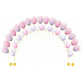 Арка гелиевая двойная (шар в шаре)