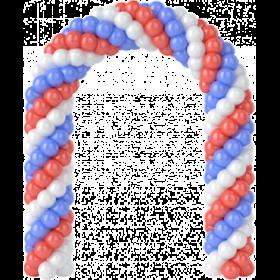 Арка плетеная