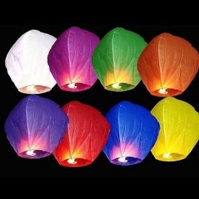 Небесные фонарики 10 шт
