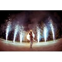 Холодный фонтан 3 метра - 40 секунд