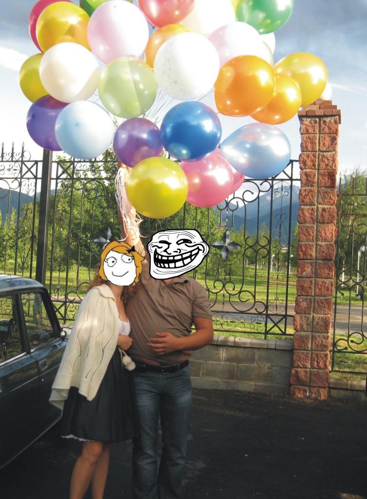 Воздушные шары Алматы. Воздушные шары недорого Алматы