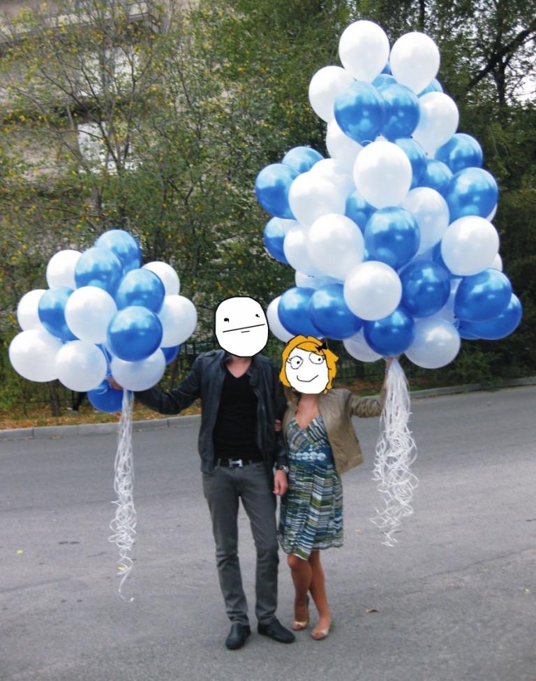 Гелевые шары Алматы. Гелевые шары с доставкой Алматы
