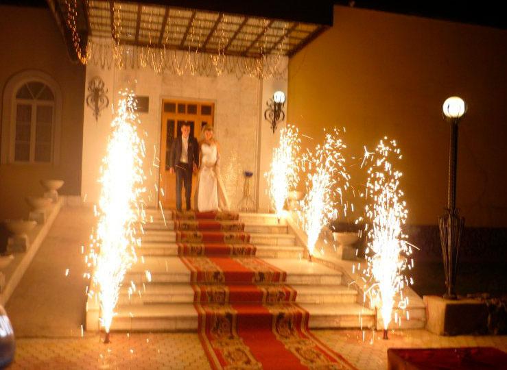 Холодные огни на свадьбу